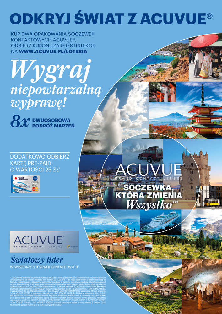 Odkryj świat z Acuvue